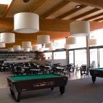 Bar and indoor terrace