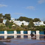 Sidi Bou Said village from terrace