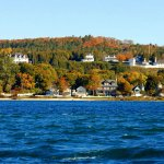 Mackinac Island from the water