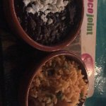 Black beans and rice! Flavorful and delicious!