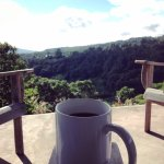 Mañana Madera's delicious coffee with a view