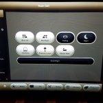 Control lights using in-room iPad