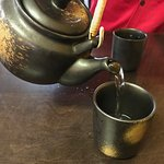 Great tea served in beautiful pots and cups