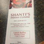 Shanti's Indian Cuisine照片