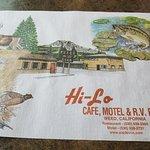 Cafe, Motel and R.V. Park