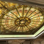Beautiful ceiling detail in one of the banquet rooms
