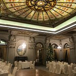 What a wonderful room for a wedding reception!