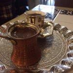 Wonderful food with Turkish coffee, rather than Greek.  Same same if you know the history.