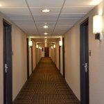 Renovated hallways
