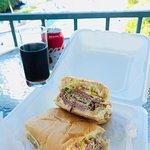 Cuban Sandwich delivered to my door!
