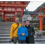 Outside Fushimi Inari