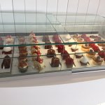 Great selection of pastries