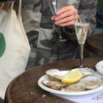 essex oysters and bubbles