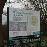 Castle information sign