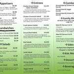 Our Menu is Always Adding New and Delicious Items!!