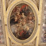 One of the ceiling portraits