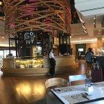 New Gourmet Bar in Lobby