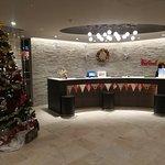 lovely decoration at hotel lobby~