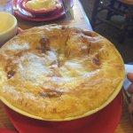 chicken pot pie with 2 sides