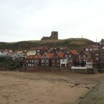 A view of St Mary's Church from Whitby town