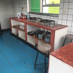 self catering kitchen across the river
