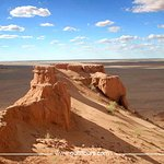 Bayanzag Red Flaming Cliffs of Mongolia