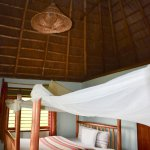 Double room with vaulted ceilings