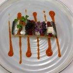 Focaccia sardines basse température caviar d'aquitaine