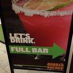 full bar sign