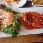Fish sweet/hot chilli