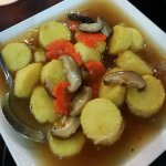 Beancurd in Oyster sauce