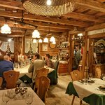 Excellent dinner, amazing place in the heart of Sappada