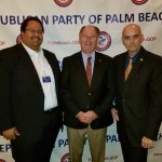 Bill Lewis of Fort Lauderdale attending the Palm Beach Republican Party holiday party at the Atl