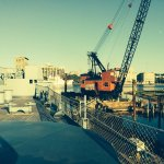 A commercial marine construction firm was building a cofferdam.....