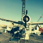 Seaplane on stern.....