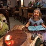 Miss 5 loves eating at Smiling Frog