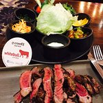 Nice creative Argentine Steak.. Good place for Hanging out with Friends