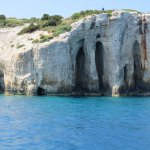 CAves from boat