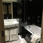 Full of everything that we needed, with plenty of space for our own items. Brilliant shower