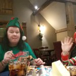 Christmas day lunch at Manor farm Worcester 2017