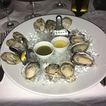 The excellent oysters at Bishop's.