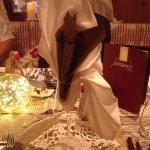Unser Tisch in der Romantikstube