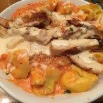 Chicken tortellini al forno