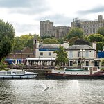 A beautiful riverside setting. Windsor's only pub on the river