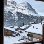 View from Cervin chalet apartment