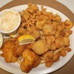 Seafood is always on the menu!