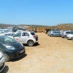 Parkplatz recht voll
