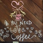 """Love this!! :) """"All You Need is Love and Coffee"""""""