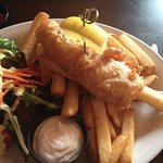 One piece fish and chips