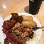 meat loaf, general tsao's, egg rolls etc